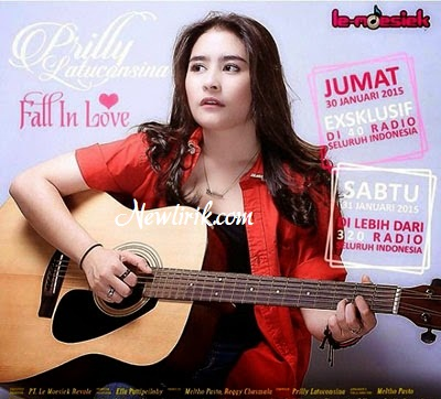 Lirik Lagu Prilly Latuconsina - Fall In Love